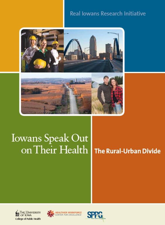 Cover of the Real Iowan's Urban Divide White Paper