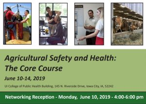 Agricultural Safety and Health: The Core Course @ College of Public Health | Iowa City | Iowa | United States