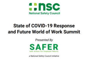 State of COVID-19 Response and Future World of Work Summit @ Online