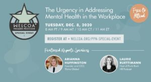 The Urgency in Addressing Mental Health in the Workplace @ Online